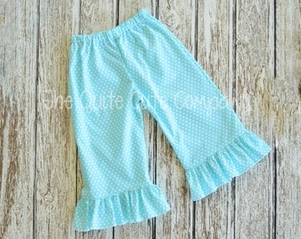 Add Made to Match Ruffle Pants or Capris to your set
