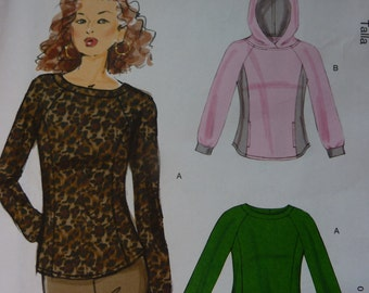 Easy McCalls m6772 Sewing Pattern Misses' Tops