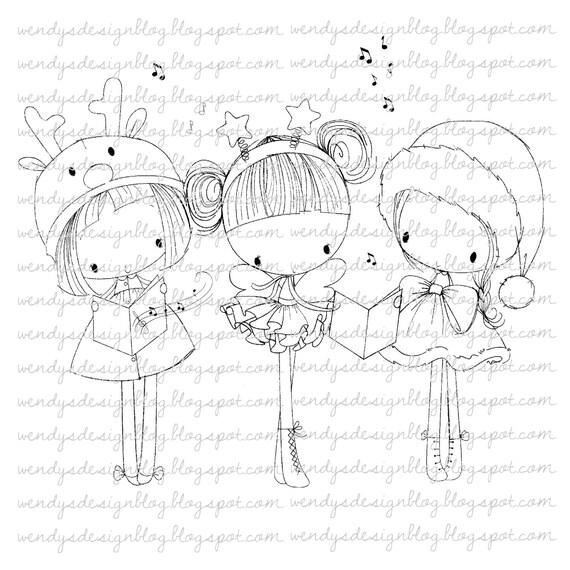 3 Little Christmas Girls