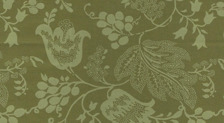 dutch chintz green ton sur ton fq. Black Bedroom Furniture Sets. Home Design Ideas