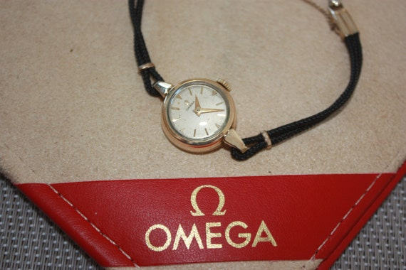 Omega Ladies Vintage Gold Cocktail Watch 1956 Exc