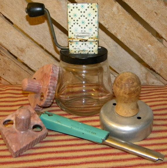 Vintage Kitchen Gadgets Androck Chopper Foley By