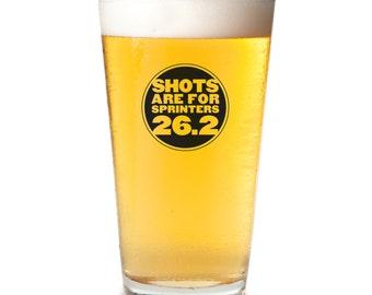 Marathon 26.2 Pint Glass