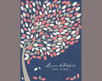 Wedding Guest Signature Tree, Wedding Tree, Alternative Guest Book, Wedding Guestbook Tree, 200 Wedding Guest Signature Tree