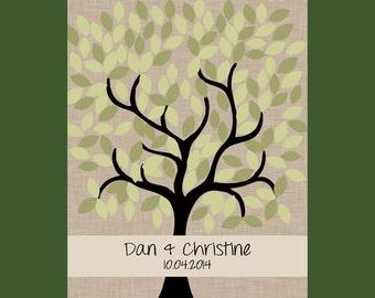 Alternative Guest Book, Wedding Signature Tree, Guest Book Wedding Tree, Wedding Tree Guestbook, 150 Guests Signature Tree