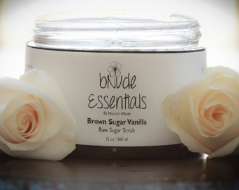 Raw Sugar Body Scrub - Brown Sugar Vanilla - 12 oz