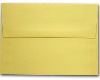 Banana Split A-7 Envelopes 25 pack