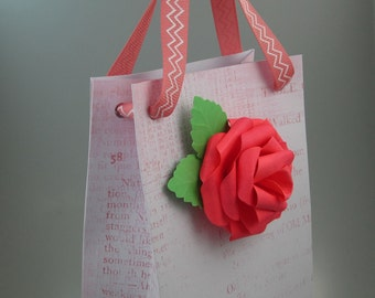 Small Hand-Made and Decorated Gift Bag