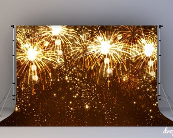 Fireworks - Photography Backdrop