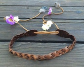 Flower Crown with Feathers and Flowers