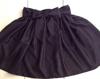 Girls Gathered Skirt w/ Sash Size 5-14