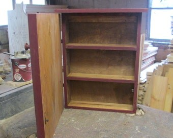 Primitive Wall Cabinet