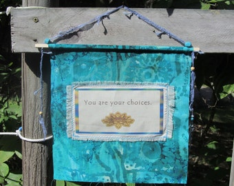 Inner Peace Flag You Are Your Choices