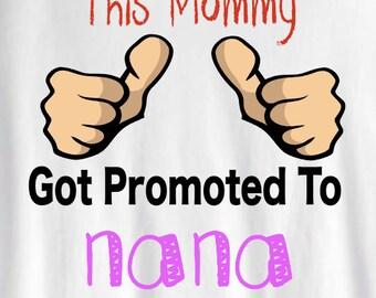 Promoted to nana