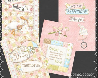AA Girl Baby Shower Brag Book