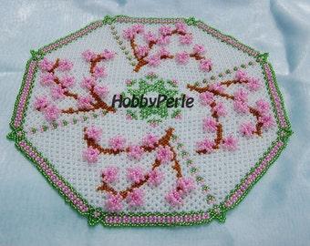 Peach Blossom Doily pattern