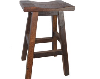 Barnwood Bar Stool - 30""