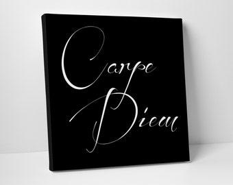 Seize the Day, Carpe Diem Canvas Art