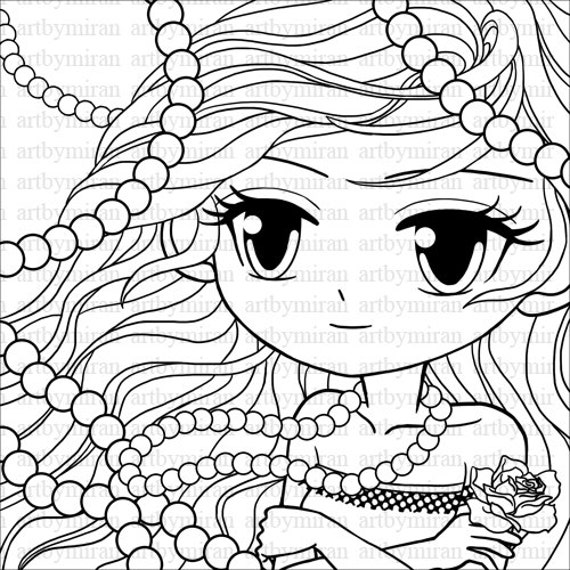 pretty lady coloring pages - photo#17
