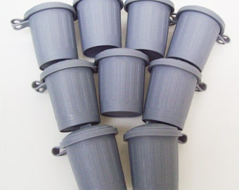 Trash Truck Dump Truck Trash Can Garbage Can Recycle Birthday Party Favors - 25 pcs
