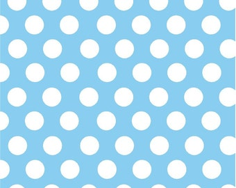 Light Blue Polka Dot Pattern
