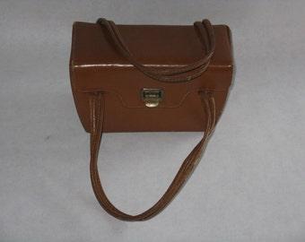 Vintage Kadin purse with double handles