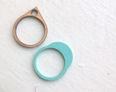 Blue Moon Stacking Rings