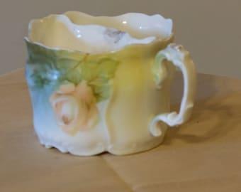 Old Porcelain German Moustache Cup