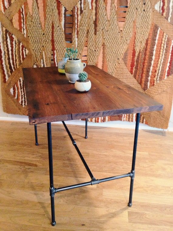 Items Similar To Bar Height Reclaimed Wood Dining Table On