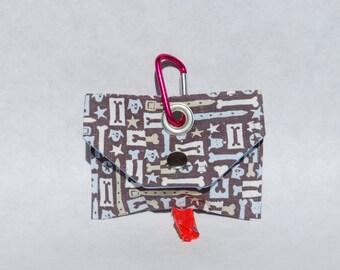 Doglandia Collars Bones Dog Gift Stocking Stuffer Dog Poop Bag Dispenser Dog Poo Bag Dog Mess Bag Waste Bag Dispenser