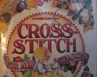 Mary Engelbreit Cross Stitch For All Seasons Pattern Design Book