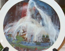 Chicago Buckingham Fountain Franklin McMahon Limited Edition Plate