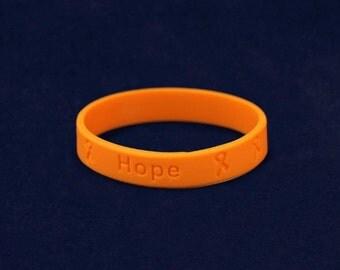 Leukemia Awareness Silicone Bracelet (RE-SILB-5)