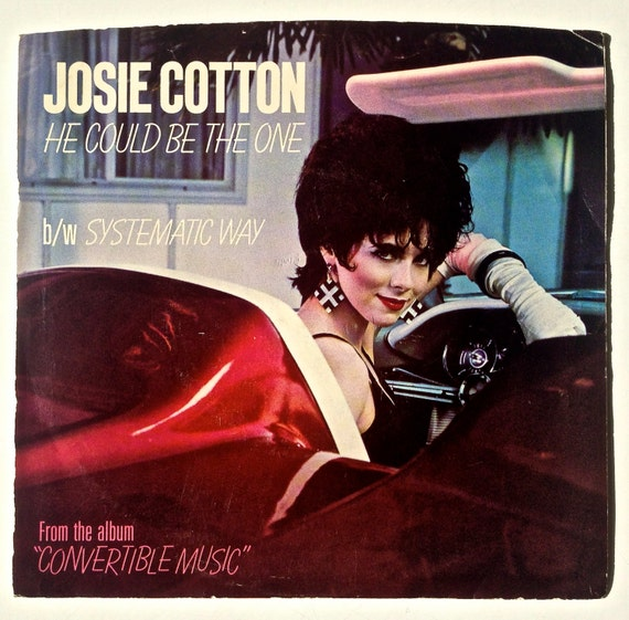 Josie Cotton He Could Be The One 7 Single 45 Rpm Pink