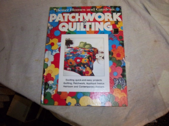 Free Ship Better Homes And Gardens Patchwork Quilting Book