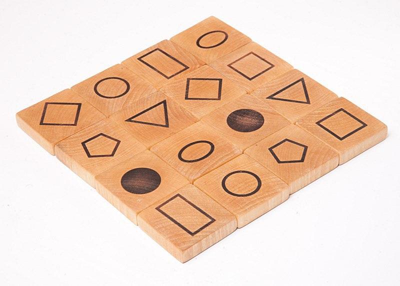 holz memory spiel waldorf spielzeug mathematische spiel. Black Bedroom Furniture Sets. Home Design Ideas