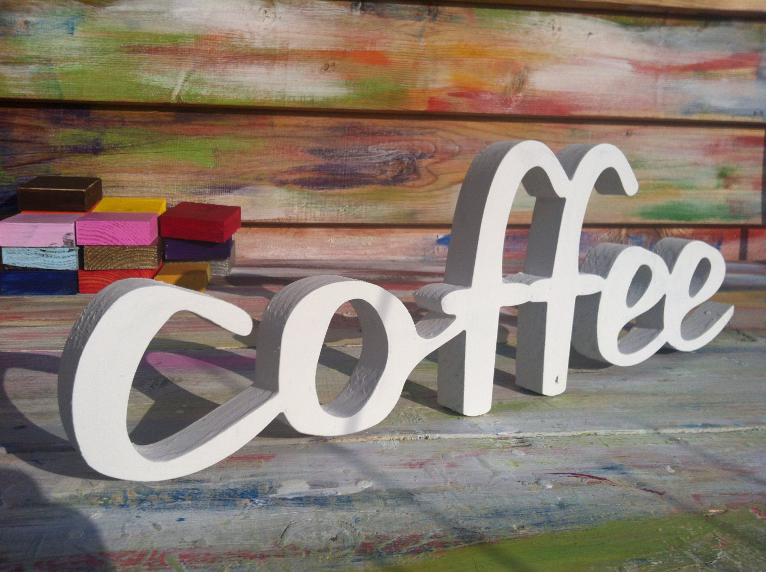 Coffee Sign Home Decor Office Decoration Business Sign By SunFla