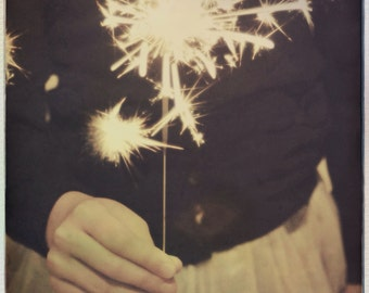 Sparkle, Art Photography Print, Celebration, Festive Theme
