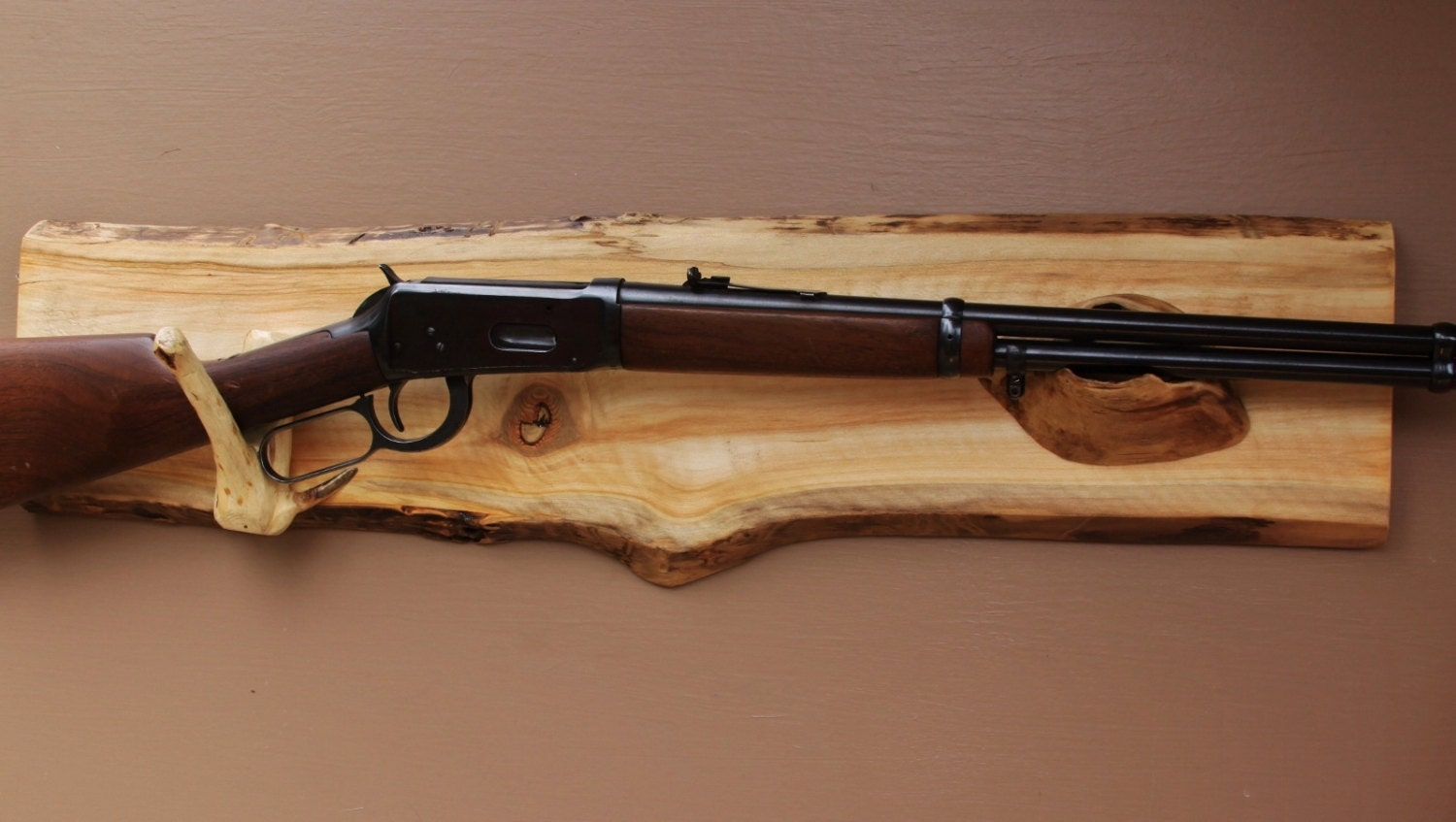 Long Gun Display Rack A 77 Aspen Backing With By