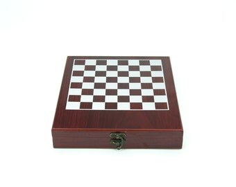 Personalized Chess Set, Engravable Chess Board