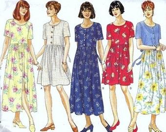 Butterick Sewing Pattern 4333 Misses' Dress  Petite  Size:  XS-S-M  Uncut