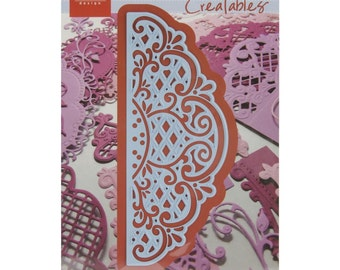 "Marianne Designs Creatables Die ~ Anja's Vintage Decoration, 5""X2"" LR0269 ~"