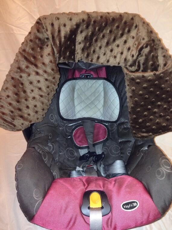pink brown owl car seat cover. Black Bedroom Furniture Sets. Home Design Ideas