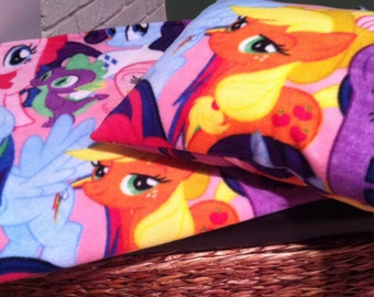 My Little Pony fleece blanket and pillow set