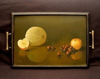 Art Tray Artwork Tray Serving Painting Fruit Still Life