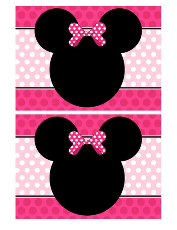 Minnie Mouse Party Invite is perfect invitations design