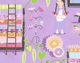 Princess & Pea by Michael Miller in Lavender