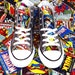 Custom Marvel Comics Converses
