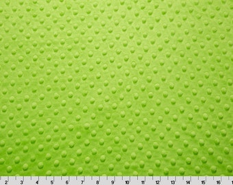 Fitted Minky Dot Crib Sheet Choose Your Color