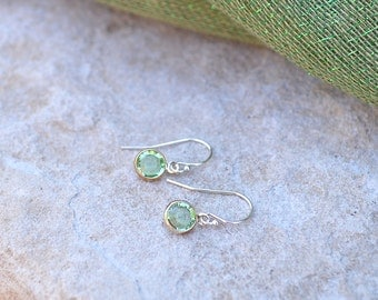 August- Birthstone Swarovski Crystal Earrings